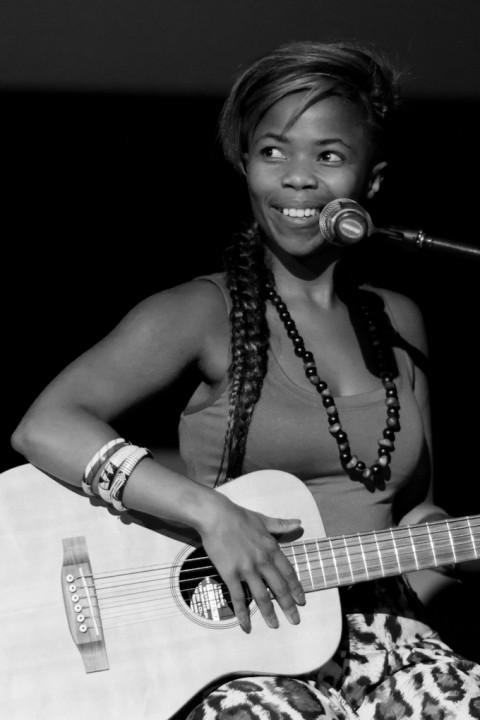 Zolani Mahola and Kyla-Rose Smith of Freshlyground